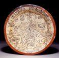Classic Maya plate