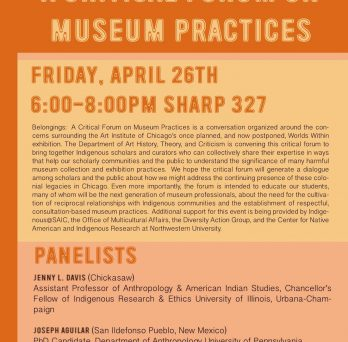 Belongings: A Critical Forum on Museum Practices