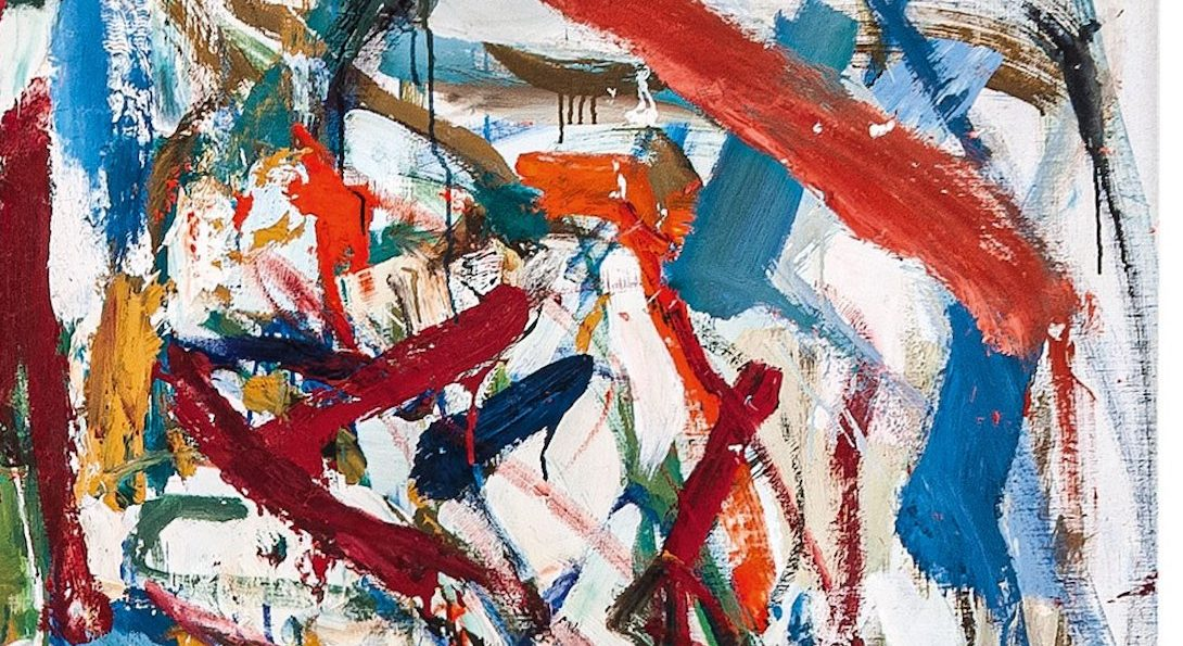 Detail of Mitchell, Evenings on 73rd Street, 1956-57